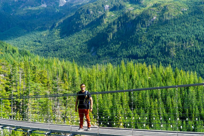 Best Photo Stops on the Sea to Sky Highway during winter