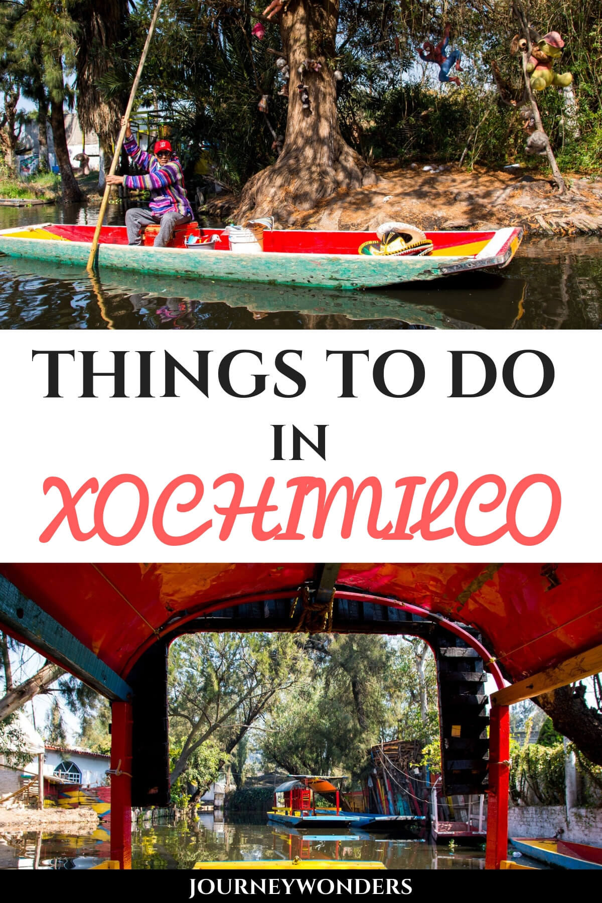 Things to do in Xochimilco #Mexico #Travel #CentralAmerica