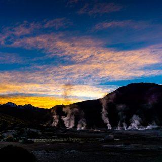 Sunrise of Wonders at El Tatio Geysers