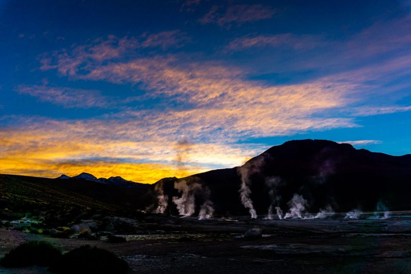 Sunrise of Wonders at El Tatio Geysers
