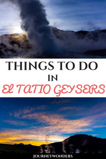 Things to do In El Tatio Geysers #Atacama #Chile #Geysers #Nature #SouthAmerica