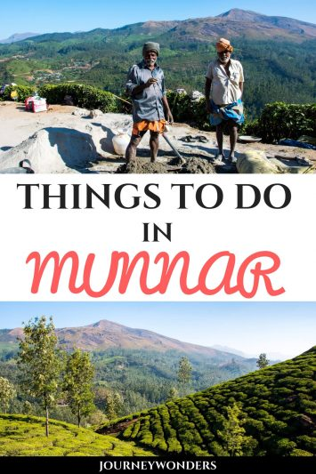 Trekking in Munnar, Kerala: Places to Visit in Munnar in 1 Day #India #Kerala #Munnar #AsiaTravel