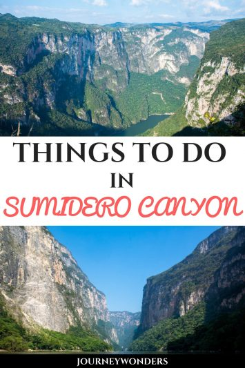 Things to do in Sumidero Canyon #Chiapas #Mexico #EcoTourism