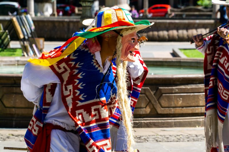 The Dance of the Old Men in Michoacan
