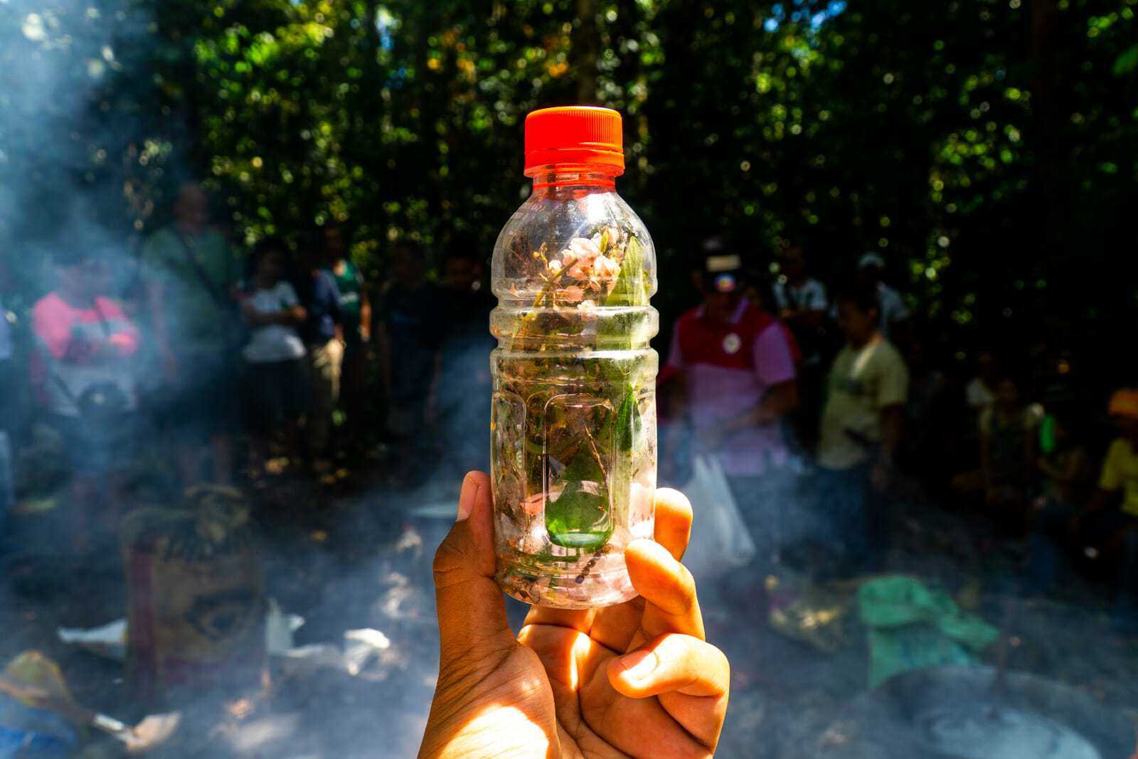 Making a Love Potion in Siquijor, Philippines