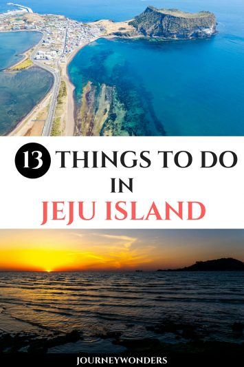 13 Things to Do and See in Jeju island