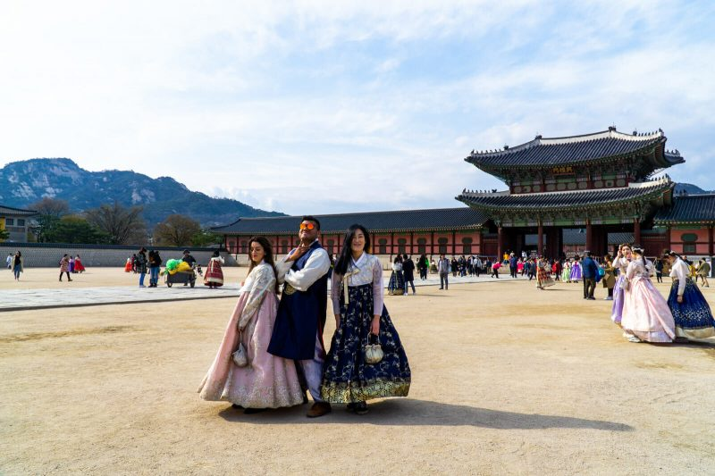 Hanging out like Royals at Seoul, South Korea