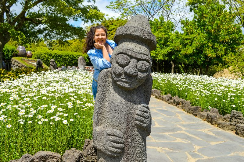 Jeju Folklore Village is one of the many attractions of Jeju Island