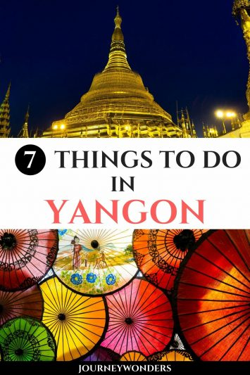 Things to Do and See in Yangon, Myanmar
