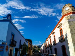 The Historical Center of Oaxaca City