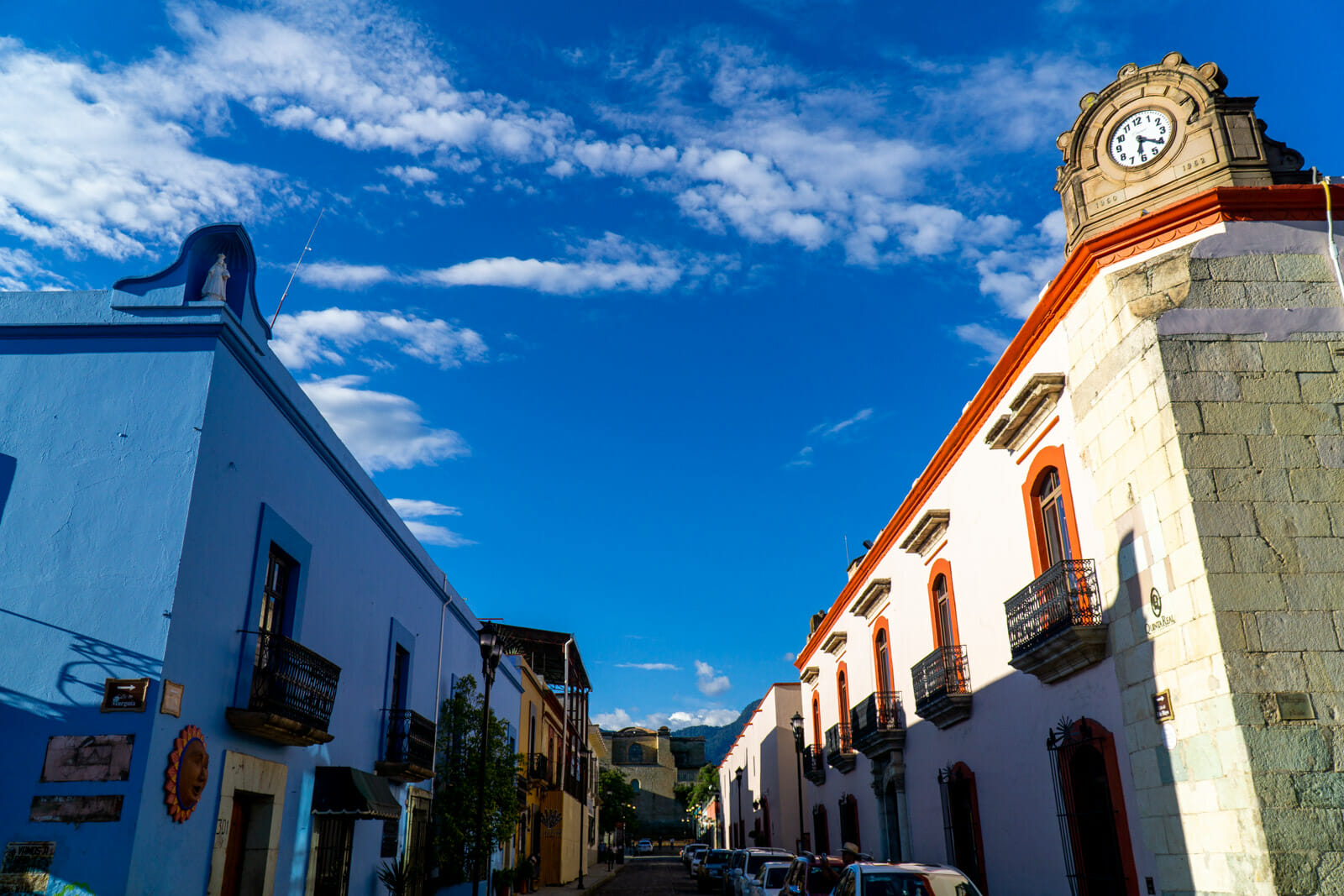 The Historical Center of Oaxaca City