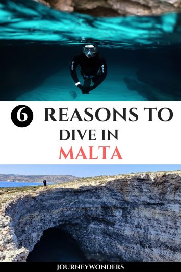 6 Reasons to Dive in Malta