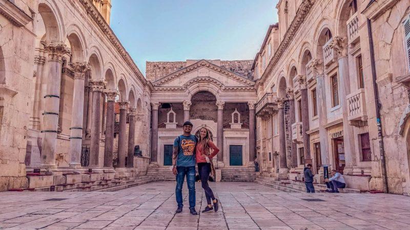 The Split Palace, an Unesco World Heritage Site